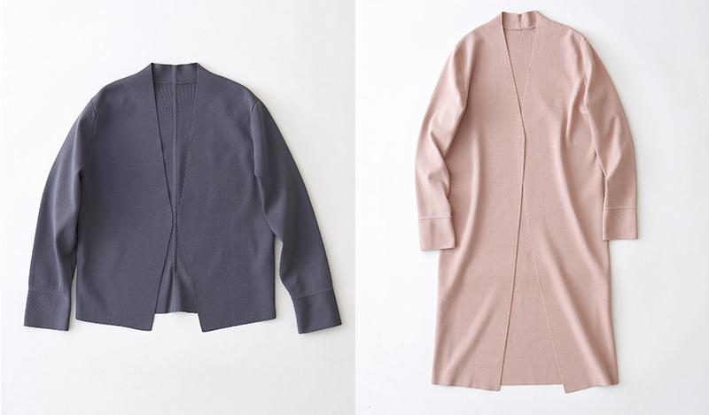 ジャケットの新しい選択肢、ニットジャケット